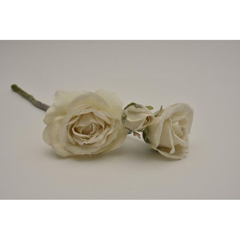 Frozen rose x3 cream 41cm